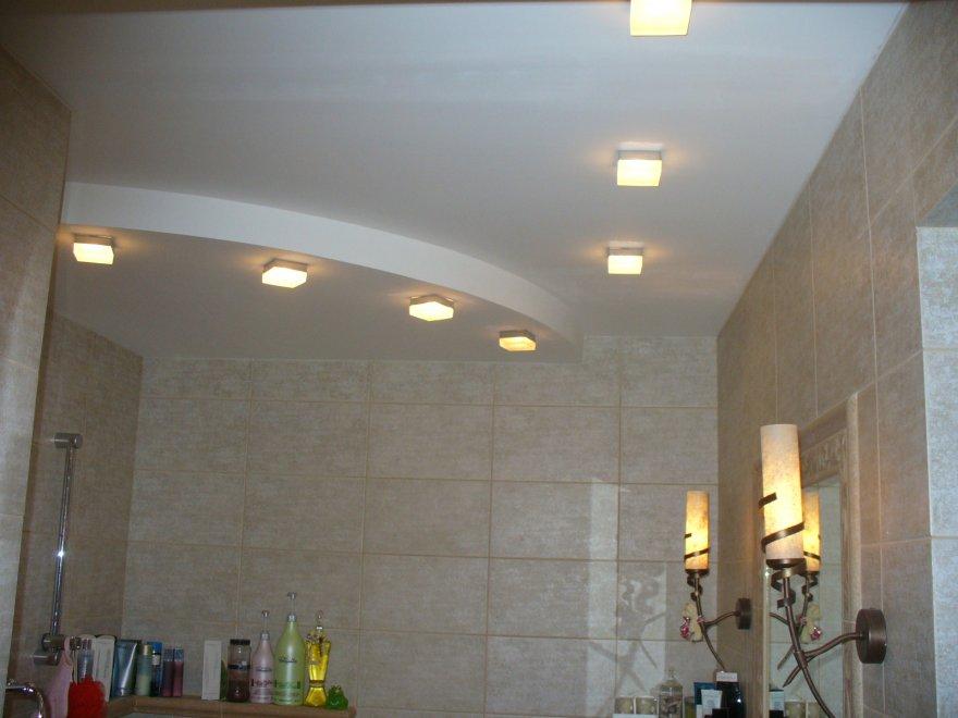 Своими руками точечное освещение в ванной 77