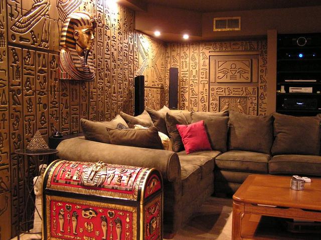 Египетский стиль в интерьере фото